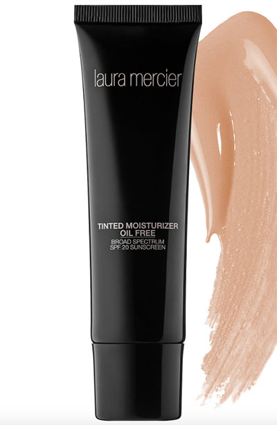 Best Foundation for Oily Skin: Laura Mercier Tinted Moisturizer Broad Spectrum SPF 20 - Oil Free