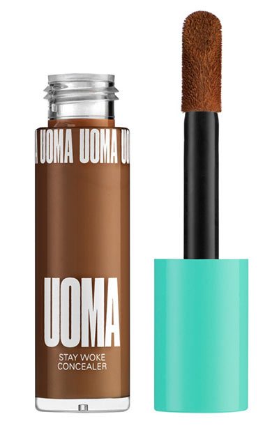 Best Makeup for Oily Skin: UOMA Beauty Stay Woke Luminous Brightening Concealer