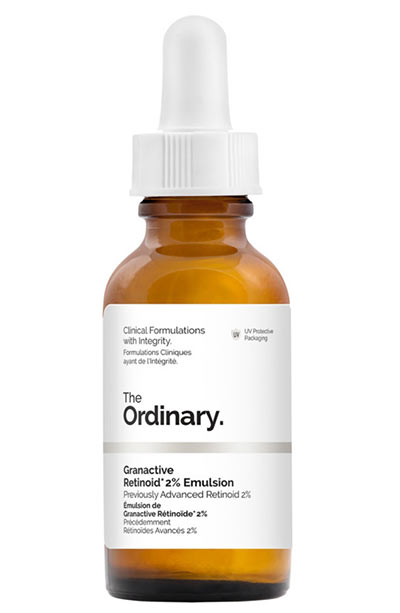 Best Nasolabial Fold Treatment Products: The Ordinary Granactive Retinoid 2% Emulsion