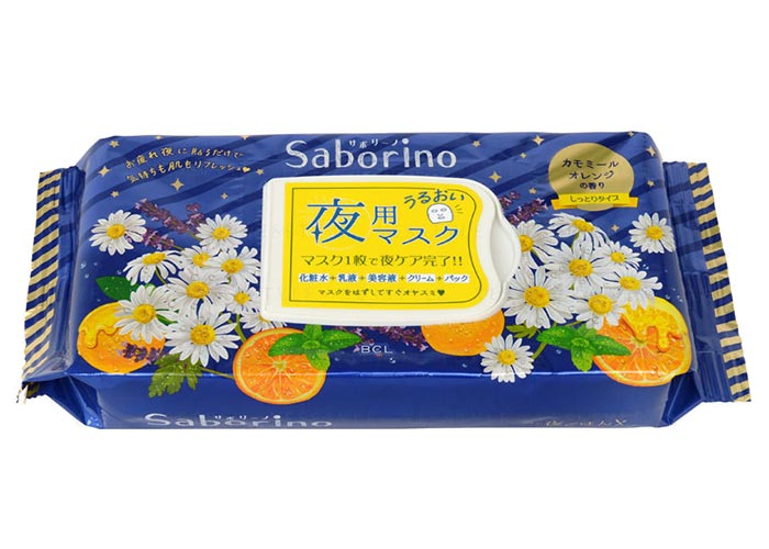 Best Japanese Beauty/ Skin Care Products: BCL Saborino Night Masks