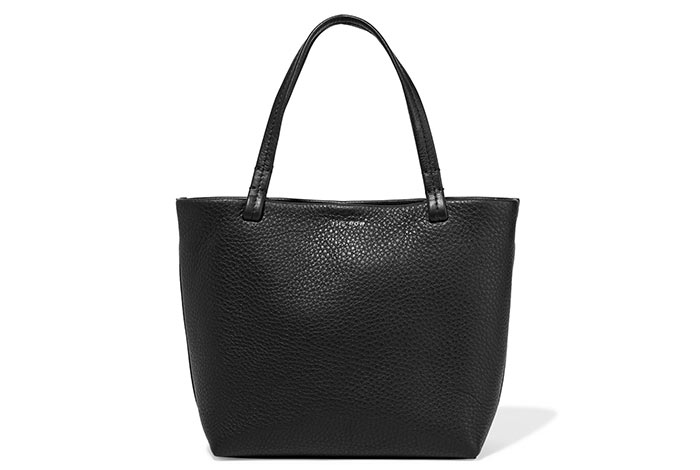 Best Black Tote Bags: The Row Black Tote Purse