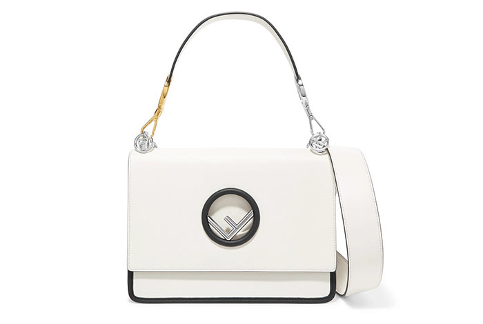 Best Designer White Bags: Fendi Kan I White Purse