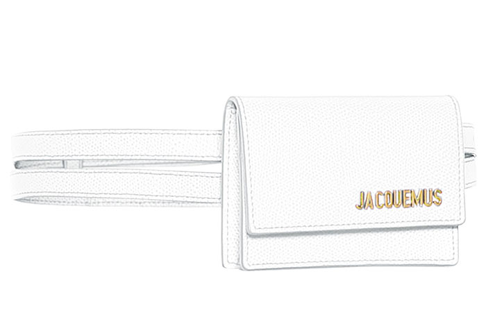 Best Designer White Bags: Jacquemus Le Bello White Belt Bag