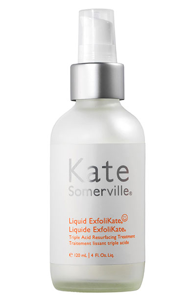 Best Enzyme Peels, Masks & Other Skin Care Products: Kate Somerville Liquid ExfoliKate Triple Acid Resurfacing Treatment