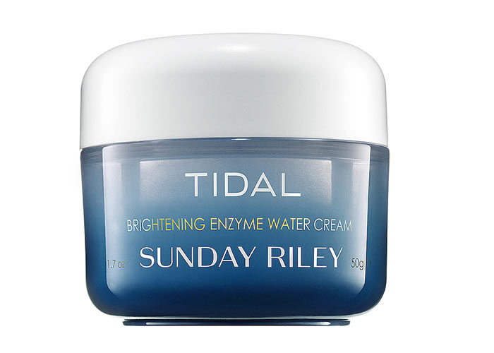 Best Enzyme Peels, Masks & Other Skin Care Products: Sunday Riley Tidal Brightening Enzyme Water Cream