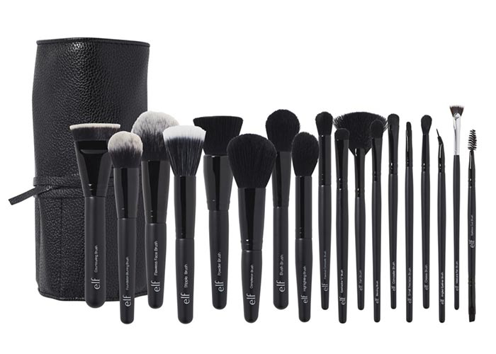 Best Makeup Brush Sets: e.l.f. Cosmetics 19 Piece Brush Collection