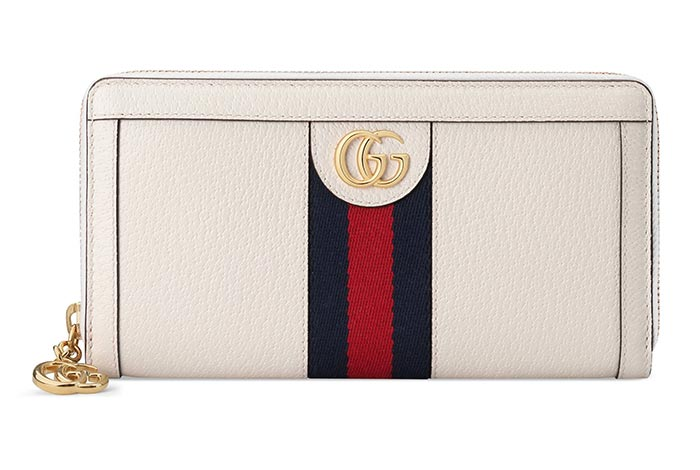 Best Designer Wallets & Coin Purses: Gucci Ophidia Leather Wallet