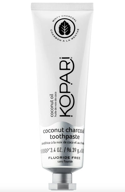 Best Teeth Whitening Kits, Strips & Pens: Kopari Coconut Charcoal Toothpaste