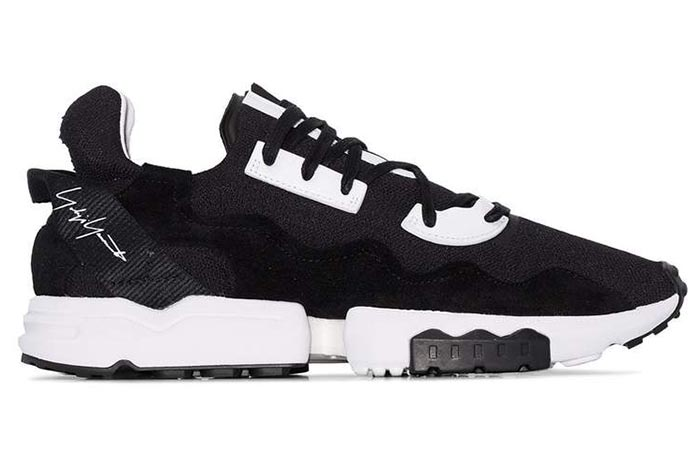 Best Women's Black Trainers: Y-3 ZX Torsion Black Sneakers