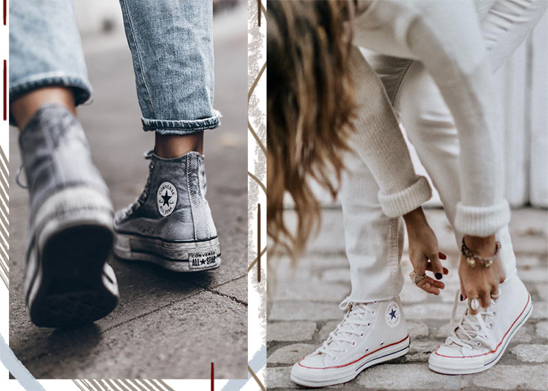 Women's High-Top Sneakers: High Tops to Feel Comfy & Cool in