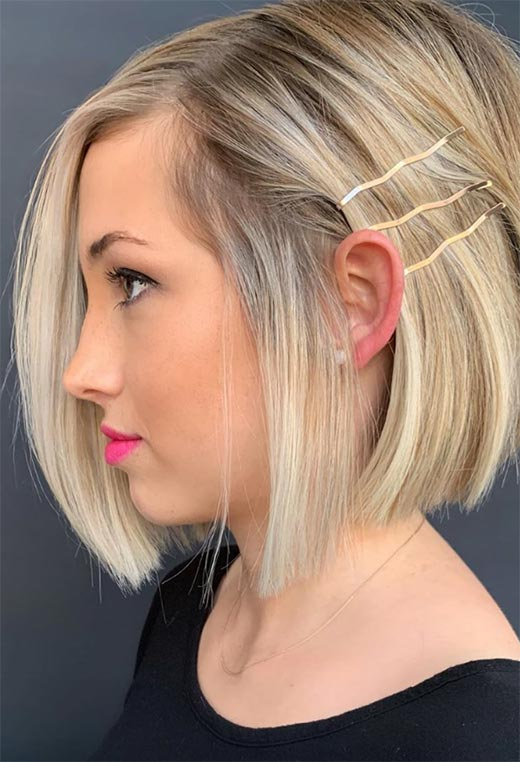 61 Cute Short Bob Haircuts Short Bob Hairstyles For 2020