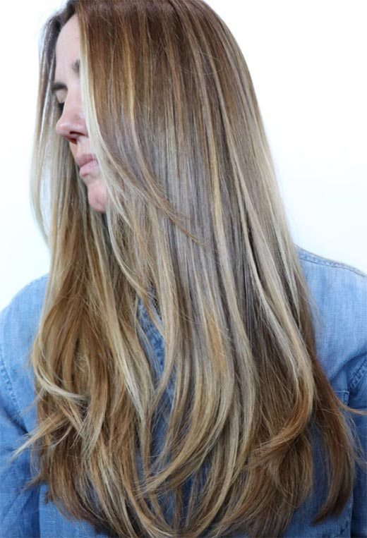 Very Long Layered Hairstyles 13
