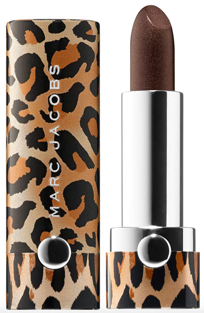 Best Metallic Lipstick Colors: Marc Jacobs Beauty Le Marc Lip Crème Lipstick in Detox
