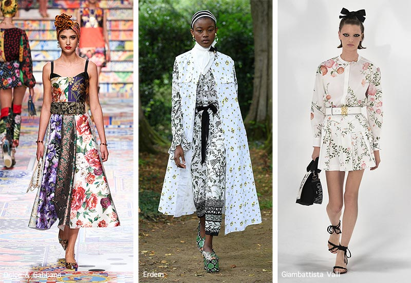 Spring/ Summer 2021 Print Trends: Floral Patterns