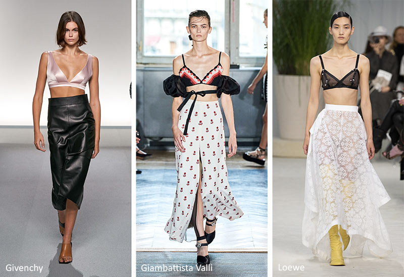 Spring/ Summer 2020 Fashion Trends: Bras, Bralettes & Bikini Tops
