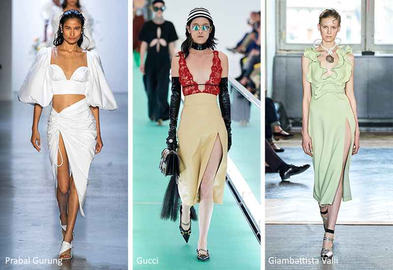 Spring/ Summer 2020 Fashion Trends: Side Slits