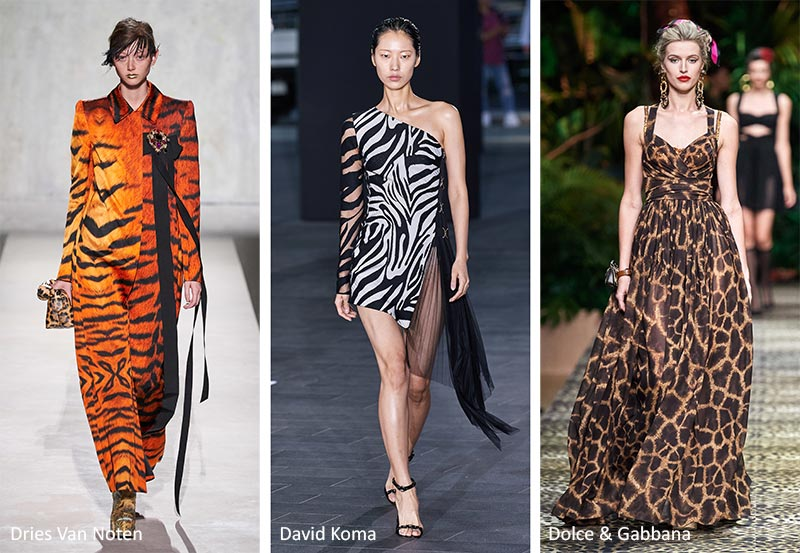 Spring/ Summer 2020 Print Trends: Animal Patterns