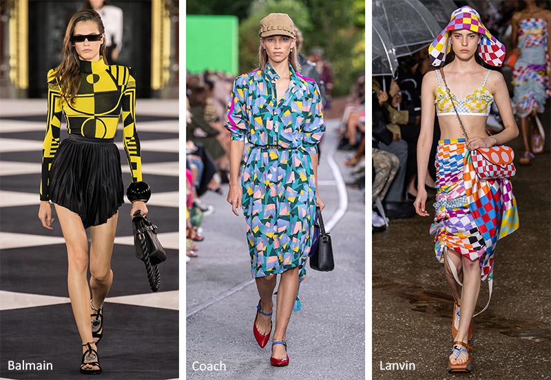 Spring/ Summer 2020 Print Trends: Geometric Patterns