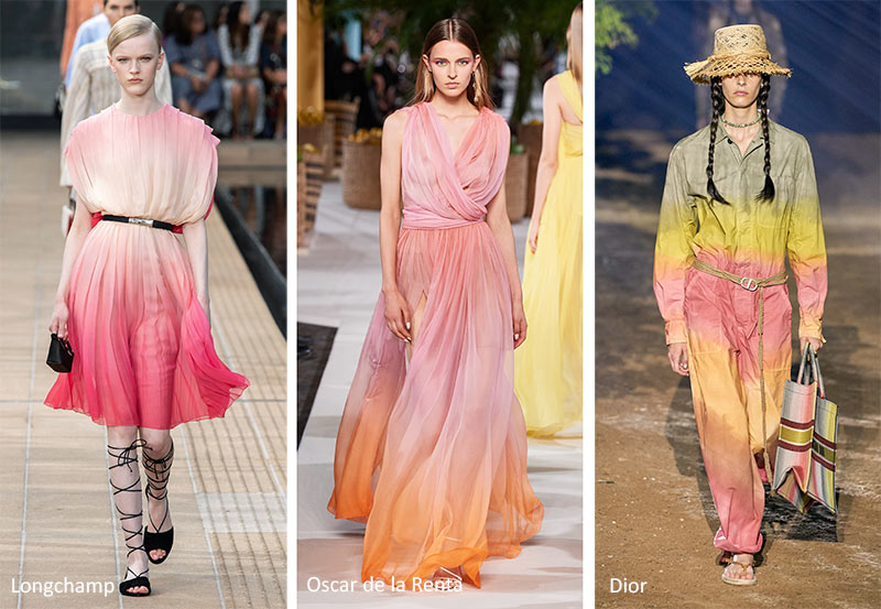 Spring/ Summer 2020 Print Trends: Gradient Patterns