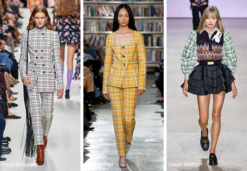 Spring/ Summer 2020 Print Trends: Tartan & Plaid Patterns
