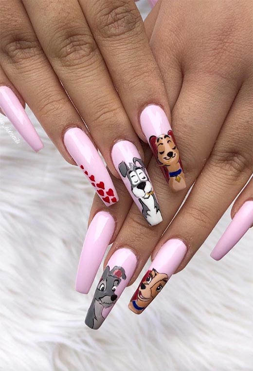 Coffin Nails Designs: Ballerina Nails Ideas