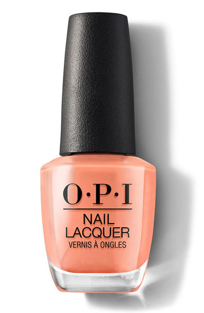 Best OPI Nail Polish Colors: Freedom of Peach