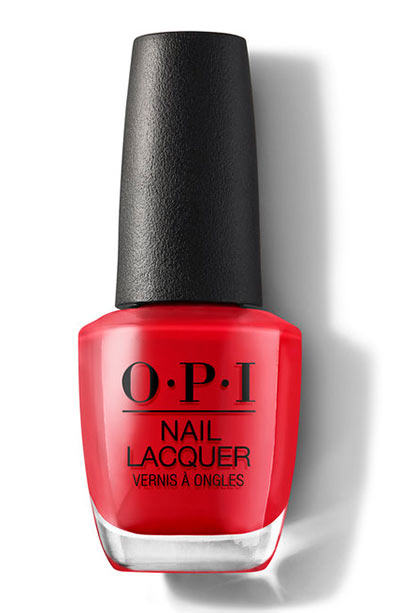 Best OPI Nail Polish Colors: Red Heads Ahead