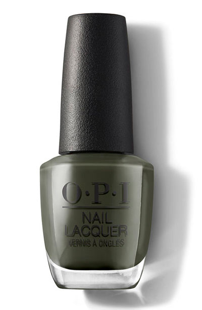 Best OPI Nail Polish Colors: Things I've Seen in Aber-green