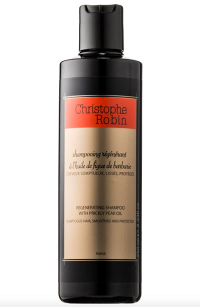 Best Shampoos for Dry Hair: Christophe Robin Regenerating Shampoo with Prickly Pear Seed Oil