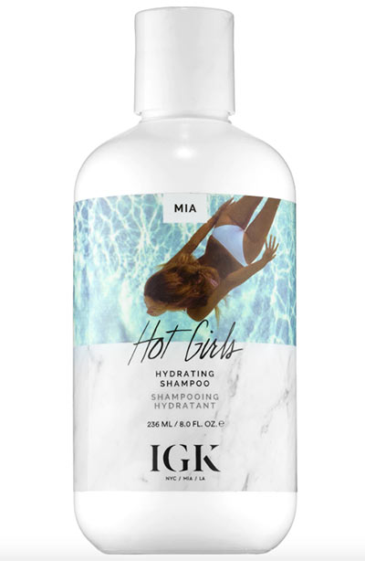 Best Shampoos for Dry Hair: IGK Hot Girls Hydrating Shampoo