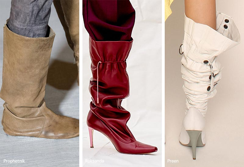Spring/ Summer 2021 Shoe Trends: Boots with a Loose Shaft