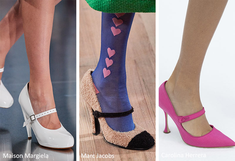 Spring/ Summer 2020 Shoes Trends: Heeled Mary Jane Shoes