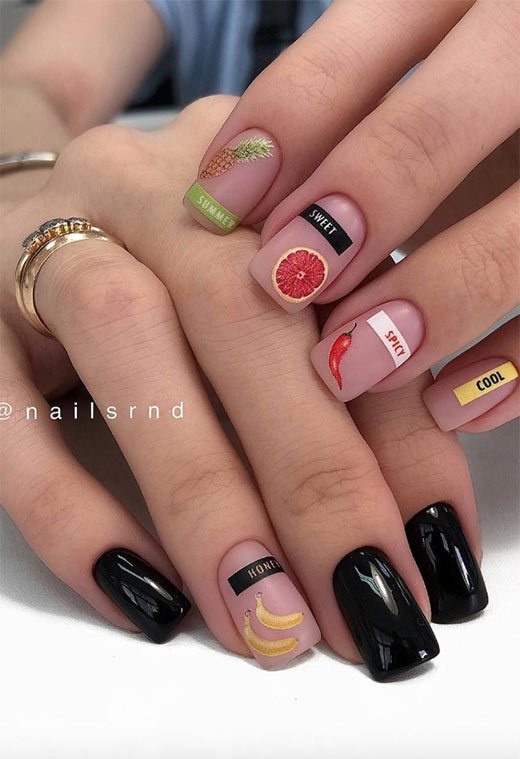 Cute Nails: Pretty & Cute Nail Designs Ideas
