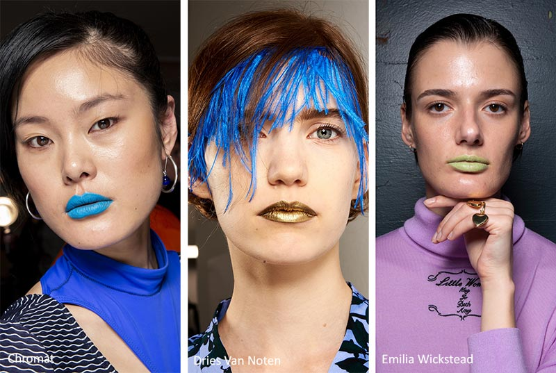 Spring/ Summer 2020 Makeup Trends: Unusual Lipstick Colors