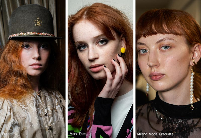 Spring/ Summer 2021 Hairstyle Trends: Red Hair Colors