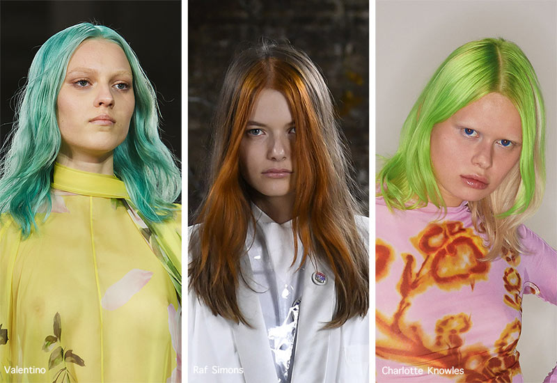 Spring/ Summer 2021 Hair Trends: Runway Hairstyles & Hair Ideas