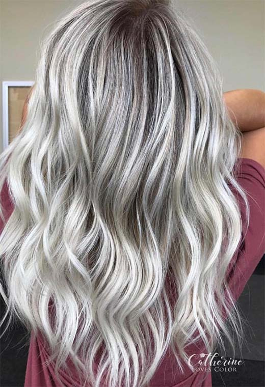 How to Color Hair Ash Blonde at Home