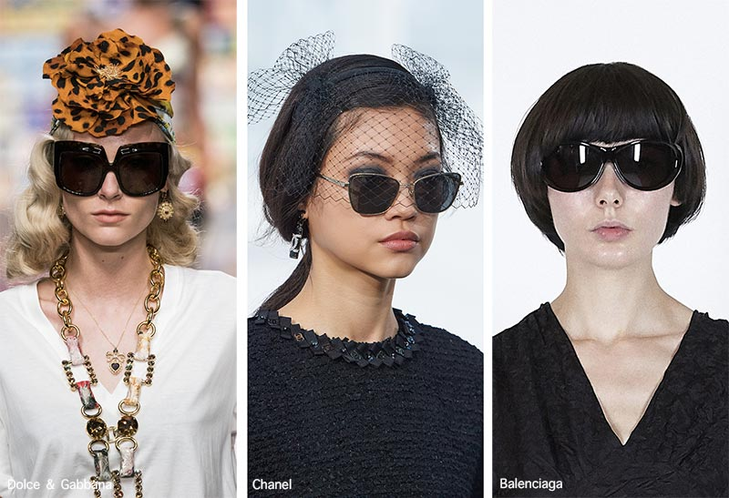 Spring/ Summer 2021 Sunglasses Trends: Sunglasses with Black Lenses