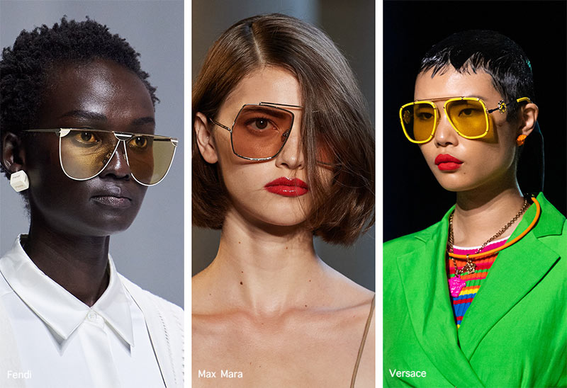Spring/ Summer 2021 Sunglasses Trends: Twisted Aviator Sunglasses