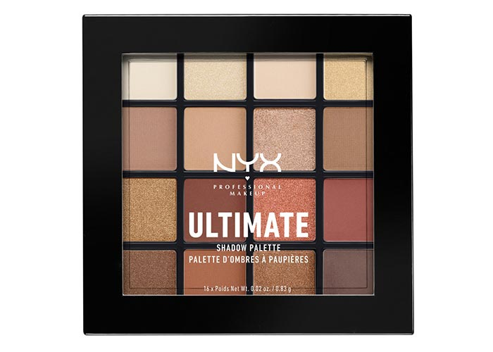 Best Eyeshadow Palettes: NYX Professional Makeup Warm Neutral Ultimate Shadow Palette