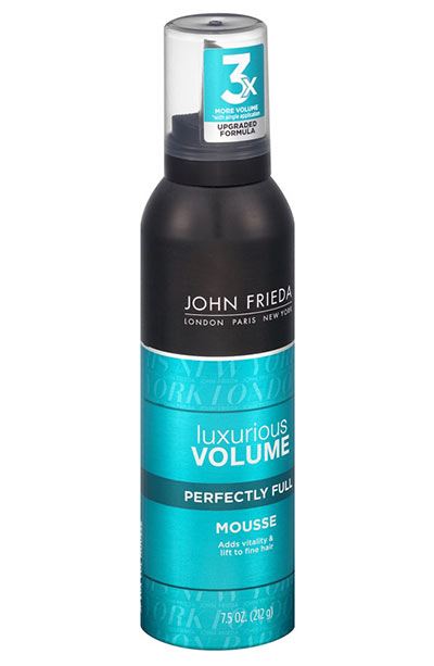 Best Hair Mousse Products: John Frieda Luxurious Volume Thickening Mousse