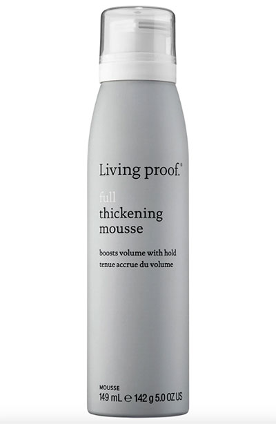 Best Hair Mousse Products: Living Proof Full Thickening Mousse