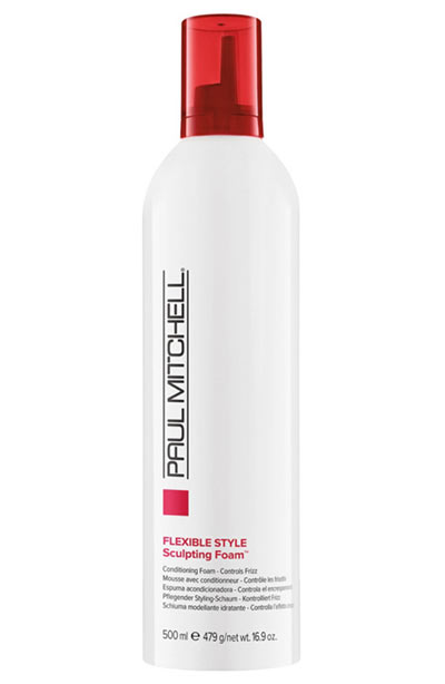 Best Hair Mousse Products: Paul Mitchell Flexible Style Sculpting Foam