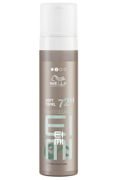 Best Hair Mousse Products: Wella EIMI Nutricurls Soft Twirl Anti-Frizz Styling Foam