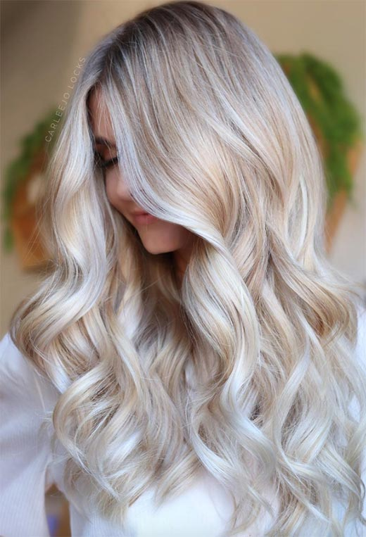 Best Platinum Hair Color for Your Skin Tone