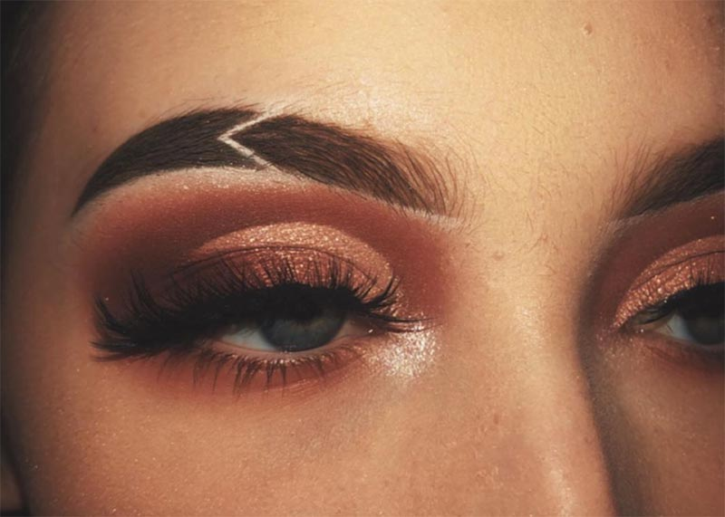 Common Eyebrow Cut Designs