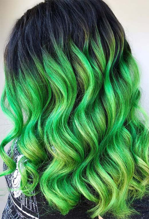 How to Care for Green Hair Color