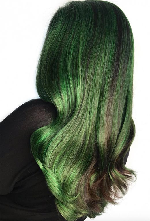 How to Maintain Green Hair Color
