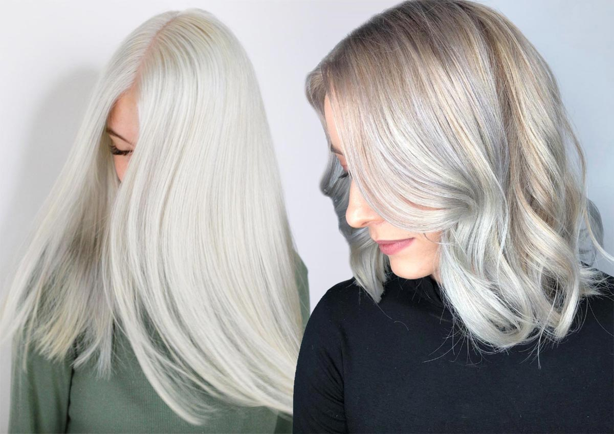 Platinum Blonde Hair Color Shades