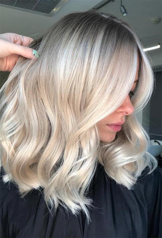 Platinum Blonde Hair Color Shades: Platinum Hair Ideas